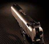 Handgun And Slide
