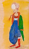 Man In Traditional Turkish Dress