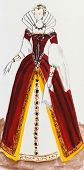 Royal Costume In France Late 16Th Century