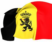 Government Ensign Of Belgium