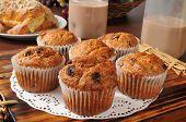 Golden Bran Muffins