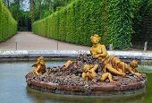 Flora  Fountain In Versailles Palace Garden, France