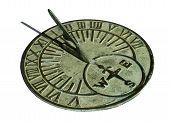 Sundial At Noon