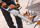 Chainsaw In The Hands Of Men
