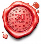thirty years experience 30 year of specialized expertise top expert specialist best service guaranteed