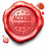 access granted entrance password accepted control safety and security restricted area members only r