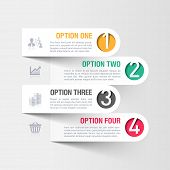 Business-Infografiken-Template. Vektor.