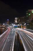 Expressway Tail Lights Brisbane