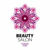 Abstract Logo Lace For Beauty Salon
