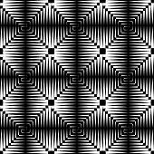 Seamless checked texture. Vector art.