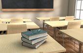 Klassenzimmer-Bücher