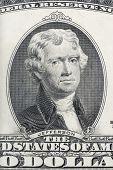 Portrait Of Thomas Jefferson Xxl