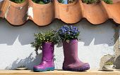 Rubber Boots Decoration