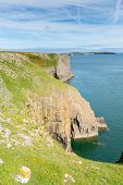 Lydstep Point Pembrokeshire Wales