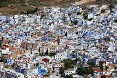 Town Chefchaouen In Morocco