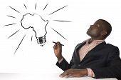 African Man Has Genius Idea