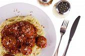 Spaghetti-Frikadellen