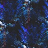 abstract avant-garde seamless blue wallpaper watercolor art hand