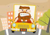 Verhalten im Straßenverkehr.