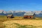 Norwegian 1700's Style Barns In Montana