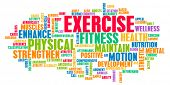 Exercise Concept for Weight Loss and Health