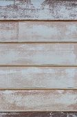 Wall From Wooden Planks