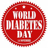 World Diabetes Day-label