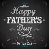 stock photo of sweetheart  - illustration of Happy Father - JPG