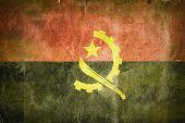 stock photo of reino  - Flag of Angola - JPG