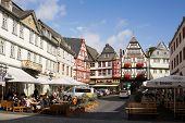 Cityscape Of Limburg An Der Lahn In Germany