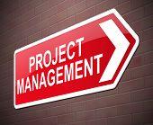 Project Management Concept.