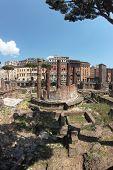 Largo Di Torre Argentina In Rome, Italy
