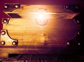 Magical Glowing Treasure Chest