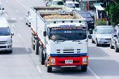 Trailer dump truck of Payawan company