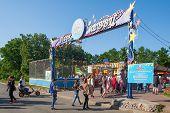 People Entering Vdnkh Amusement Park