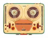 Reel tape recorder from 1960s.