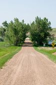 Dirt Road in South Dakota