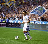 Younes Belhanda Of Dynamo Kyiv