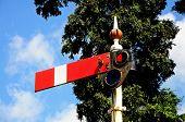 Semaphore railway signal,