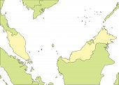 Malaysia and Surrounding Countries