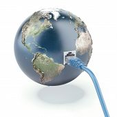 ethernet connected globe