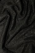 Black Metallic Fabric Pattern Texture Fashion Background