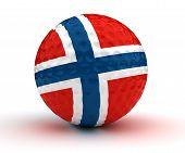 Norwegian Golf Ball