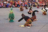 khmer maemuat or Thai Kuy dance