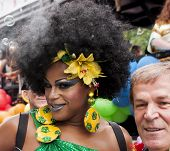 Transgender During Gay Pride Dressed Brazilian Style
