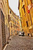 Street In Rome Italy