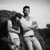 Countryside Couple Portrait