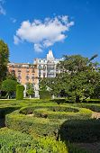 Park near Royal Palace - Madrid Spain