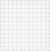Perspective and closeup view to abstract space of empty light gray and white bath clean tile texture for the traditional business background in cold bright colors with lines, rectangles and squares.