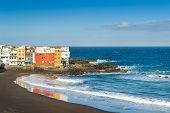 Puerto Cruz best ocean beach with black sand